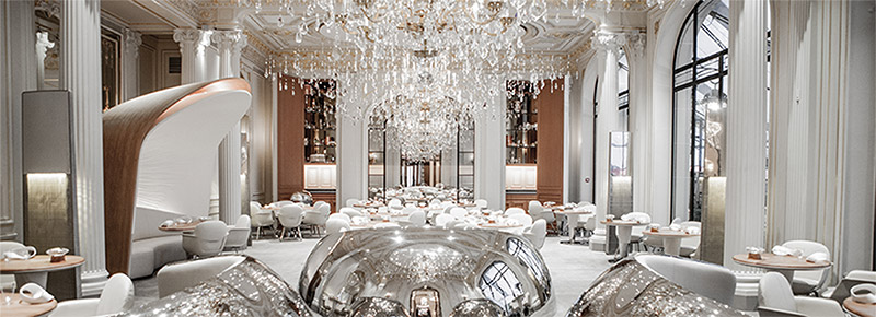 Dinner and Overnight Stay for Two at Plaza Athénée